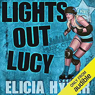 Lights Out Lucy audiobook cover art