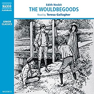The Wouldbegoods audiobook cover art