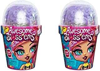 Awesome Blossems, Magical Growing Flower-Themed Scented Collectible Doll (Style May Vary) - 2 Pack!!