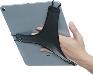 TFY Hand Strap Holder Finger Grip with Soft PU, Compatible with iPad Pro 12.9