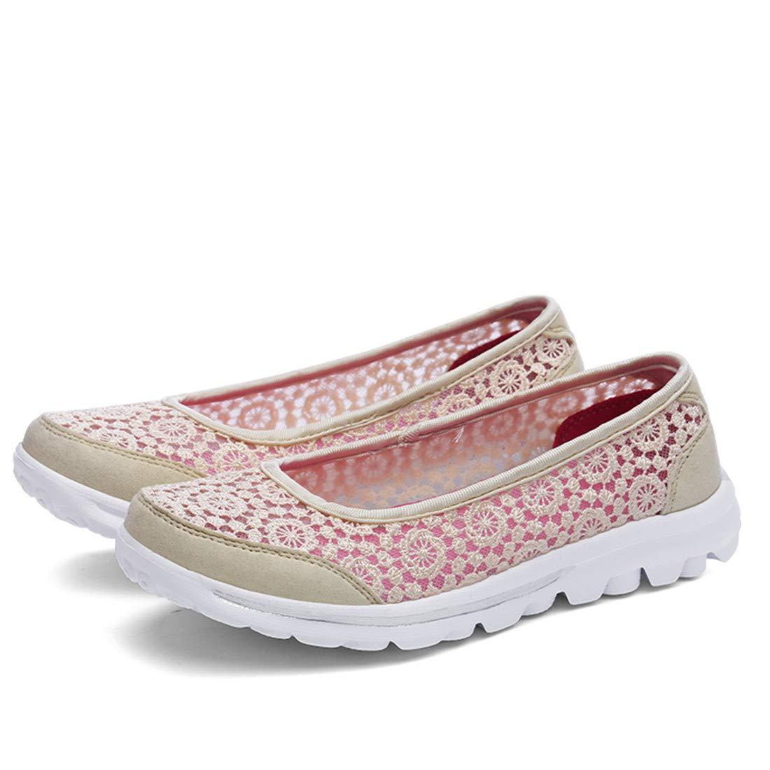 JIFENGJIANHAOブラストJianハオレースシルク中空靴軽量MDソールセットフットシューズファッション母シューズ