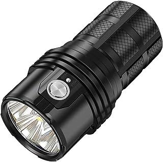 IMALENT MS06 latarka LED, 25 000 lumenów, zasięg świecenia 513 m, 6 sztuk CREE XHP70, 2 diody LED, taktyczna latarka z moż...