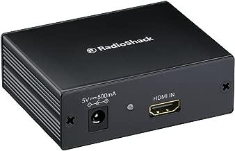 RadioShack HDMI to RF Coaxial Converter Adapter