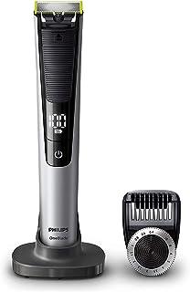 comprar comparacion Philips QP6520/30 OneBlade Pro - Recortador de barba con peine de precisión de 14 longitudes y base de carga, recorta, per...