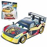 Disney Selección Modelos Carbon Racers Cars | Cast 1:55 Vehículos | Mattel, Cars Carbon Racer:Miguel Camino