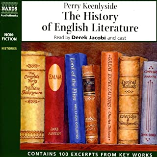 The History of English Literature (Unabridged) cover art