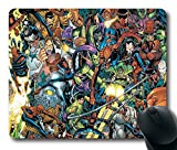 Spider-Man Custom Rectangle Mouse Pad Oblong Gaming Mousepad in 220mm180mm3mm (9'7') -828004