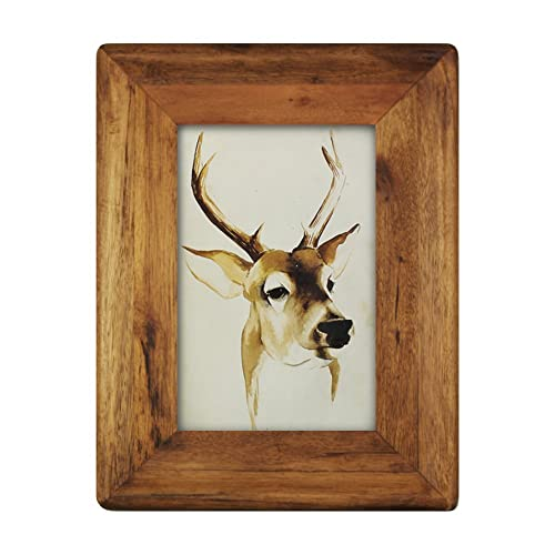 4d1869632d4e icheesday 4x6 Wood Picture Frame with Glass Front