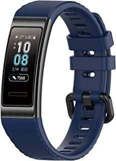 BarRan Watchband Replacement for Huawei Band 3 Pro, Silicone Sport Fitness Tracker Quick Release Wristband Bracelet Watch ...
