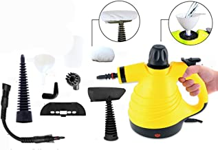 Curtains steam cleaners for the home multi purpose steam cleaner handheld steam mops for floors Windows for Carpet with Accessory Kit 2600Wyellow High Pressure Car Seats