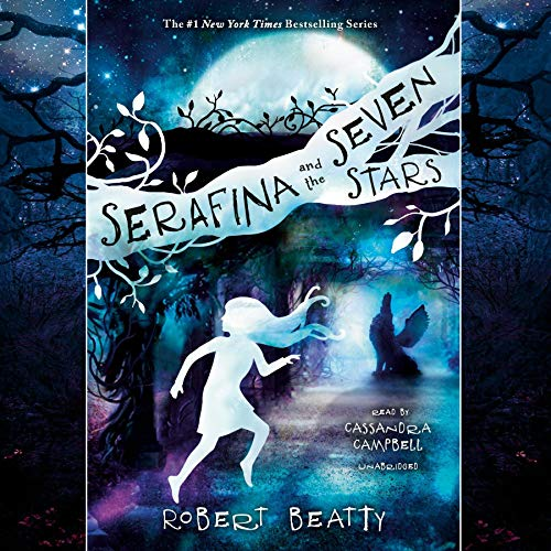 Serafina and the Seven Stars audiobook cover art