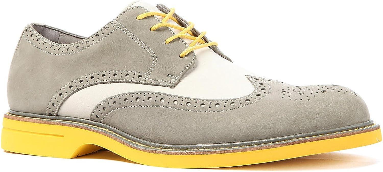 Sperry Top-Sider Men's The gold Oxford Wingtip ASV shoes 8.5 Granite