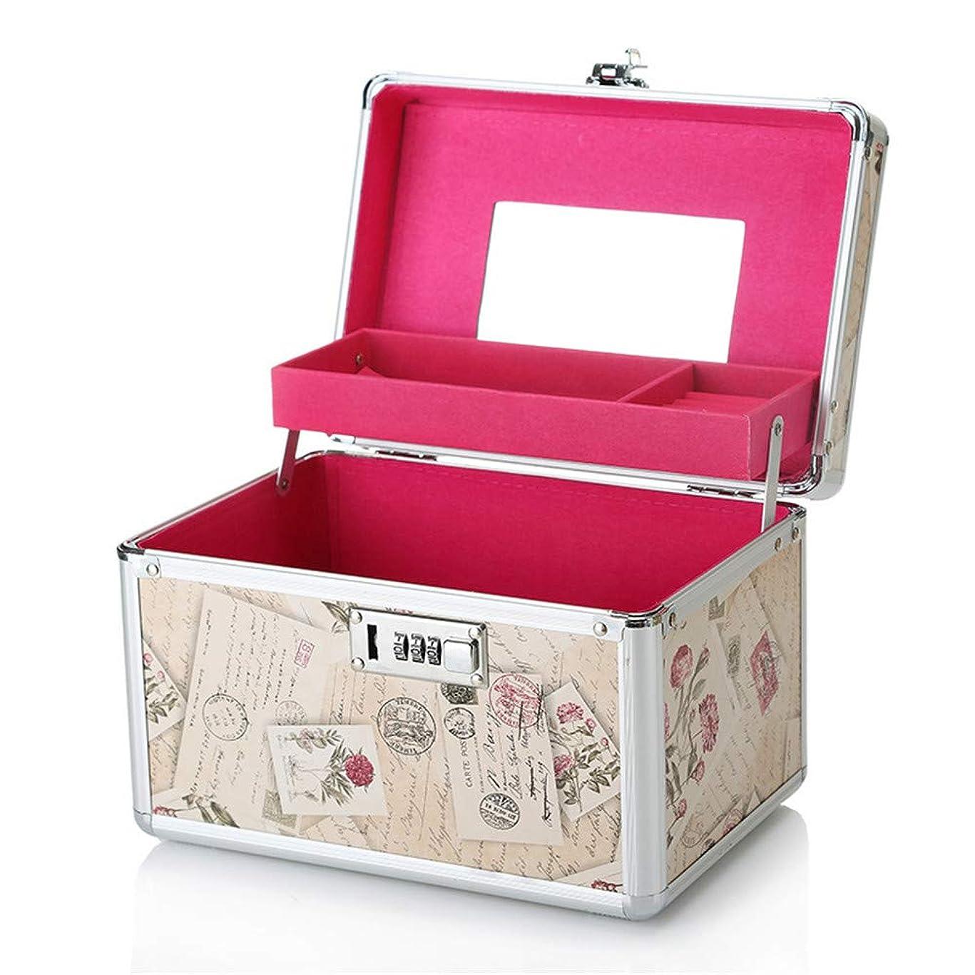 資産部分カーペット特大スペース収納ビューティーボックス 美の構造のためそしてジッパーおよび折る皿が付いている女の子の女性旅行そして毎日の貯蔵のための高容量の携帯用化粧品袋 化粧品化粧台