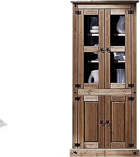 Amazon.es: muebles vitrinas rusticas