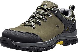 CAMEL CROWN أحذية المشي لمسافات طويلة للرجال منخفضة الرقبة الرحلات، أحذية رياضية للمشي في الهواء الطلق العمل تريل عارضة