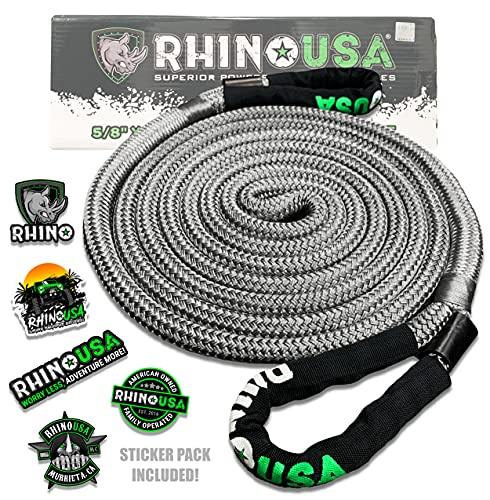 Rhino USA Kinetic Energy Recovery Rope (5/8' x...