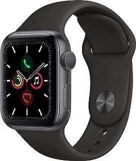 Apple Watch Seri 5 GPS 40mm Uzay Grisi Alüminyum Kasa ve Siyah Spor Kordon MWV82TU/A