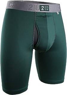 "2UNDR Mens Power Shift 9"" Boxer Long Leg Underwear"