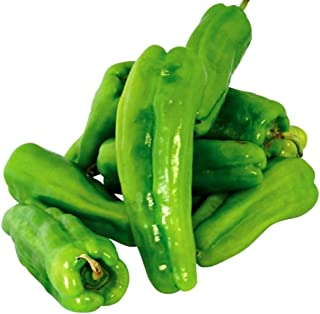 Sweet Cubanelle Pepper Seeds for Growing Mild Cuban Heirloom Chili #315C (25 Seeds)