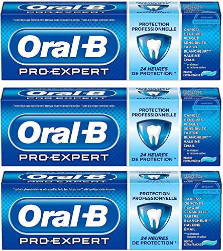 Oral-B Pro Profesional Zahnpasta, extra frisch, 75 ml, 3 Stück