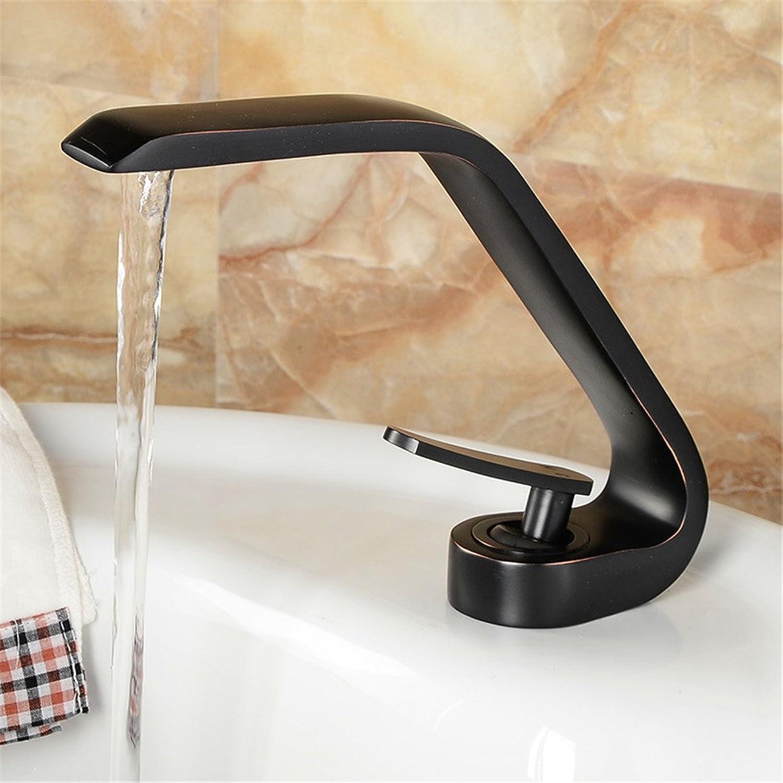 Küche mit herausziehbarer Dual-Spülbrause,Kaltes Heies Wassert Variante courbée cuisine salle de bains en cuivre robinet usine ascenseur direct type mélangeur robinet robinet de lavabo (6E76)