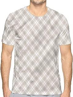 Comfort Colors t Shirt Plaid,Brown Diagonal Retro t Shirt