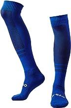 LANSHI Men's Soccer Socks Compression Long Sport Over Knee High Sock Size M US(6-12)