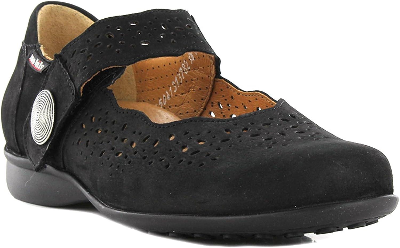 Mephisto Mobrils Fabienne Bucksoft svart Nubuck bred FIT skor kvinnor kvinnor kvinnor  förstklassig kvalitet