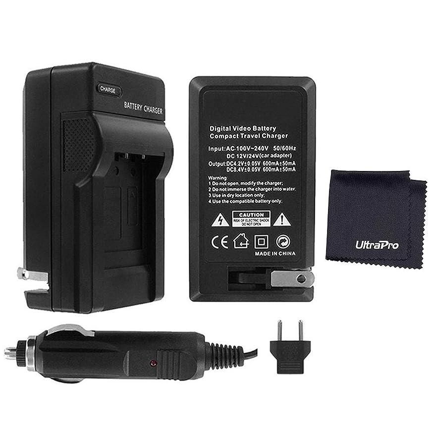 EN-EL9 / EN-EL9a Digital Camera Battery Charger Bundle for Nikon D40, D40X, D60, D3000, D5000 – UltraPro Bundle Includes Deluxe Microfiber Cleaning Cloth