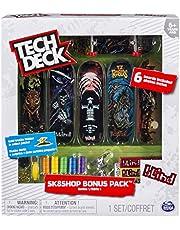 Bizak-61929495 Tech Deck Shop con 6 Skates (61929495)