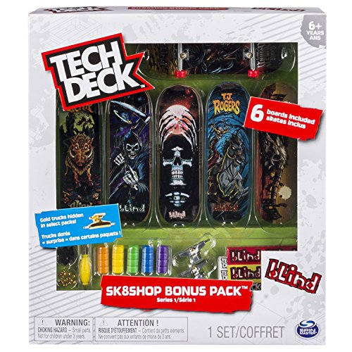 Tech Deck - Skate Shop con 6 Skates