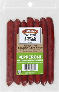 Old Wisconsin Pepperoni Snack Sticks, 5 ounce