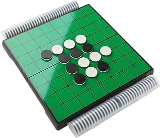 大回転 オセロ リバーシ マグネット式 コンパクト収納 定番テーブルゲーム 折り畳み ポータブル 簡単収納 軽量 25×25cm ゲーム ぶつかってもズレない 磁石 軽量で携帯に便利 折りたたみ いつでも おもちゃの神様 バーシ ポータブルリバーシ