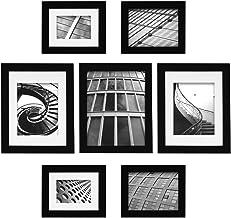 """مجموعة إطارات الصور كريت ايه جاليري سناب شوت من 7 قطع من جاليري سوليوشنز 2.5"""" x 7"""", 3.5"""" x 5"""", 8"""" x 10"""", 5"""" x 7"""" 12FP1547"""