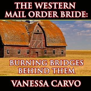 Burning Bridges Behind Them audiobook cover art