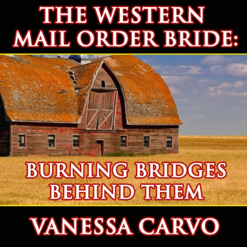 Burning Bridges Behind Them audiobook cover art