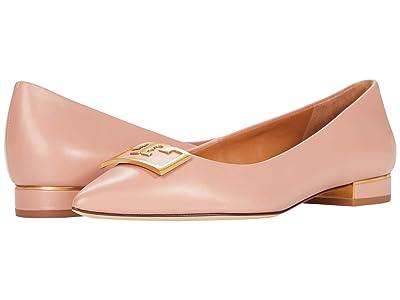 Tory Burch 20 mm Gigi Pointy Toe Flat (Pink Moon) Women