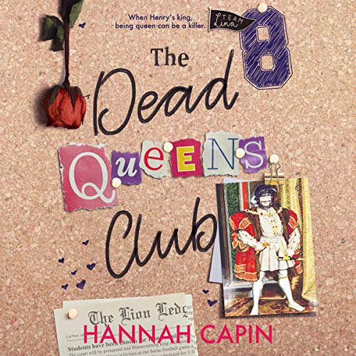 The Dead Queens Club audiobook cover art