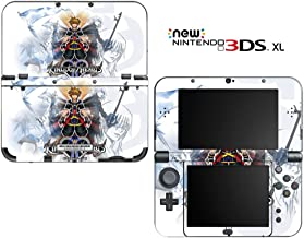 Kingdom Hearts Decorative Video Game Decal Cover Skin Protector for New Nintendo 3DS XL (2015 Edition)