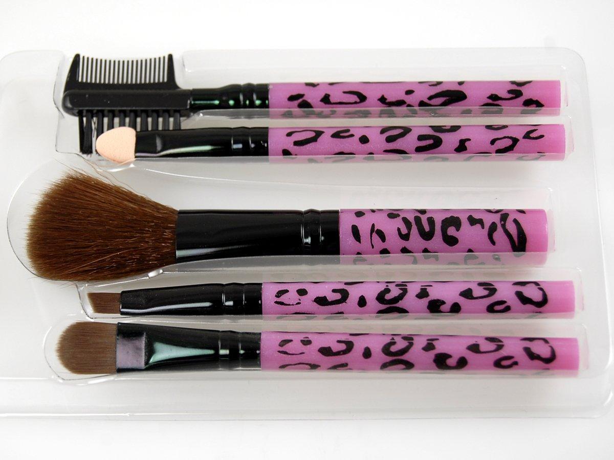 Profusion 5pc Make up Denver Mall Brush Leopard