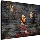 Myartstyle - Bilder Sport Zlatan Ibrahimovic Milan FC