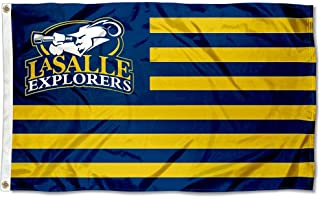 Lasalle Explorers Stars and Stripes Nation Flag
