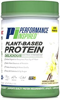 Performance Inspired Plant-Based Protein, 1.5 lb, Vanilla Bean; Style #: PPVB