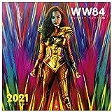 ERIK - Calendario de pared 2021 Wonder Woman, DC Comics, 30x30 cm, Producto Oficial