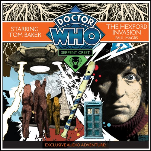 Doctor Who: Serpent Crest Part 4 - The Hexford Invasion audiobook cover art