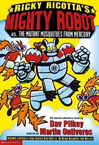 Ricky Ricotta's Mighty Robot Vs. the Mutant Mosquitoes from Mercuryの詳細を見る