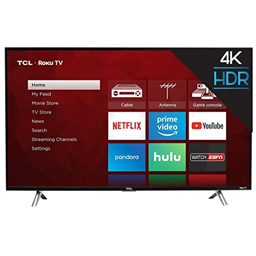 TCL 49S405 49-Inch 4K Ultra HD Roku Smart LED TV (2017 Model) Sale: Amazon.com