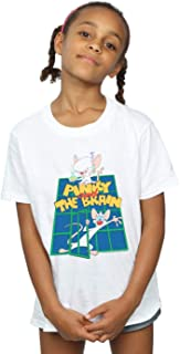 Animaniacs Girls Pinky And The Brain Laboratory T-Shirt