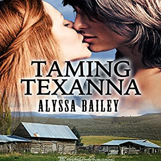 Taming Texanna audiobook cover art