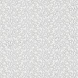 Fabulous Fabrics Spitze weiß, Blume, 130cm breit –